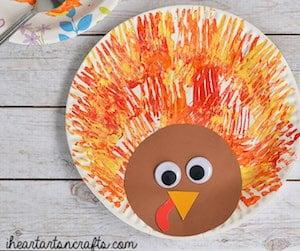 Fork Painted Turkey