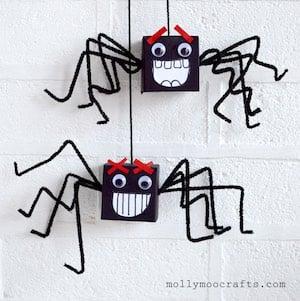 Cardboard Box Spiders