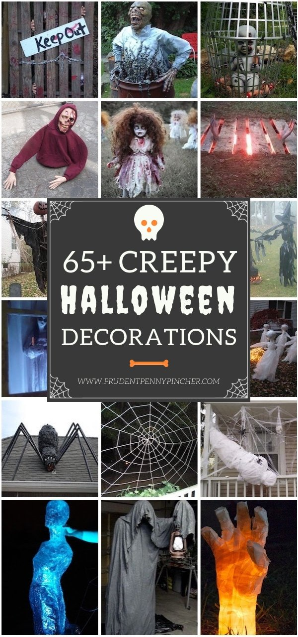 65 Creepy Decorations Diy Props
