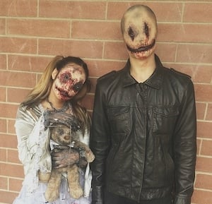 Doll & Smiley Costume