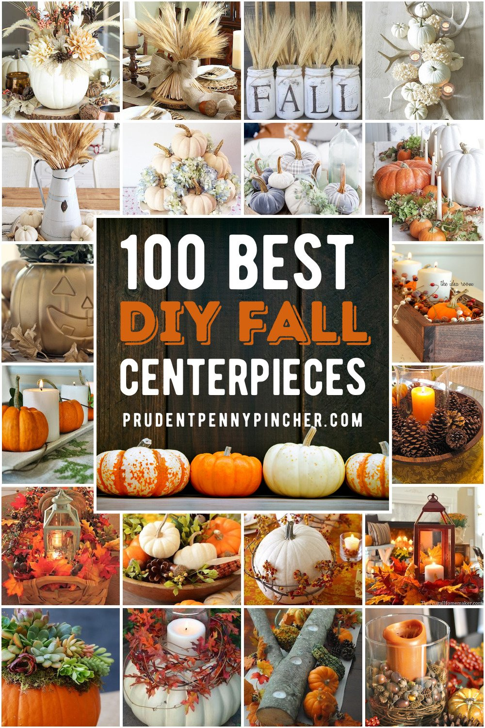20 Best DIY Fall Centerpieces   Prudent Penny Pincher