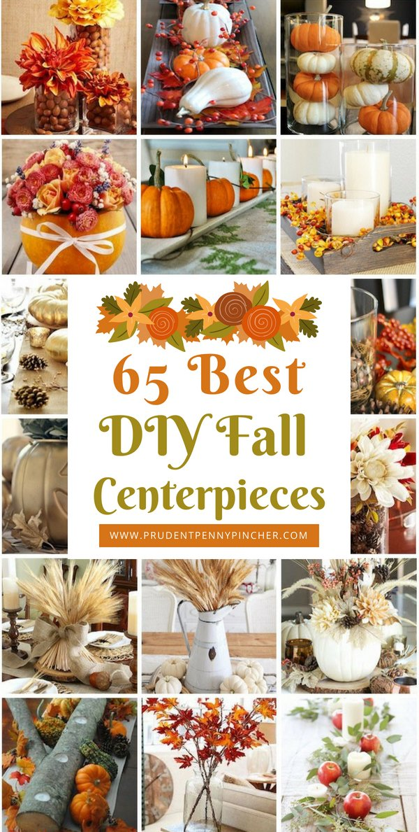 65 Best DIY Fall Centerpieces
