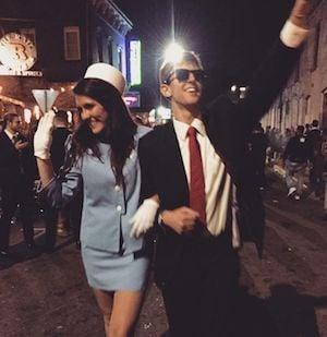 JFK & Jackie O Halloween costume