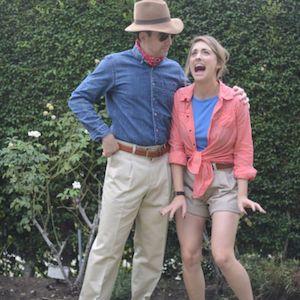 Jurassic Park's Alan & Ellie Halloween Costumes