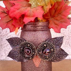 Owl Mason Jar Fall Craft