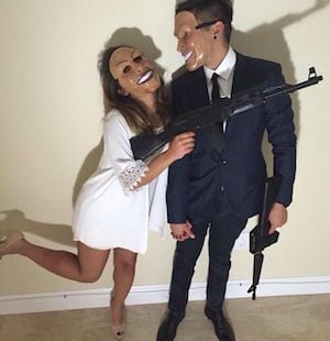 Halloween Costumes For Couples Scary.75 Easy Diy Couples Halloween Costumes Prudent Penny Pincher