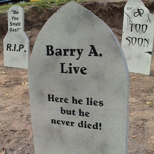 Quick and Dirty Tombstones