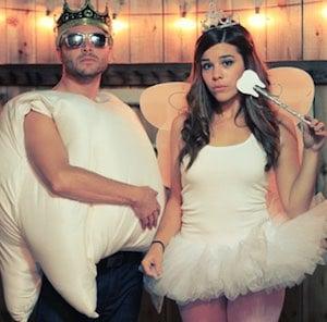 cute halloween Tooth & Tooth Fairy costume