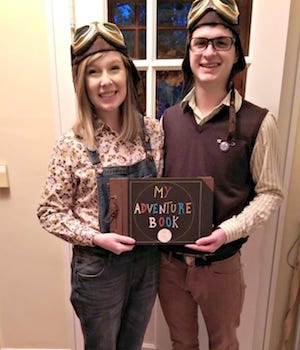 Disney Up's Carl and Ellie costume