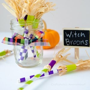 Witch Broom Party Favors