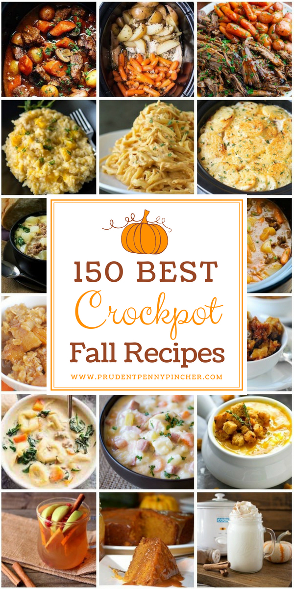 150 Best Crockpot Fall Recipes