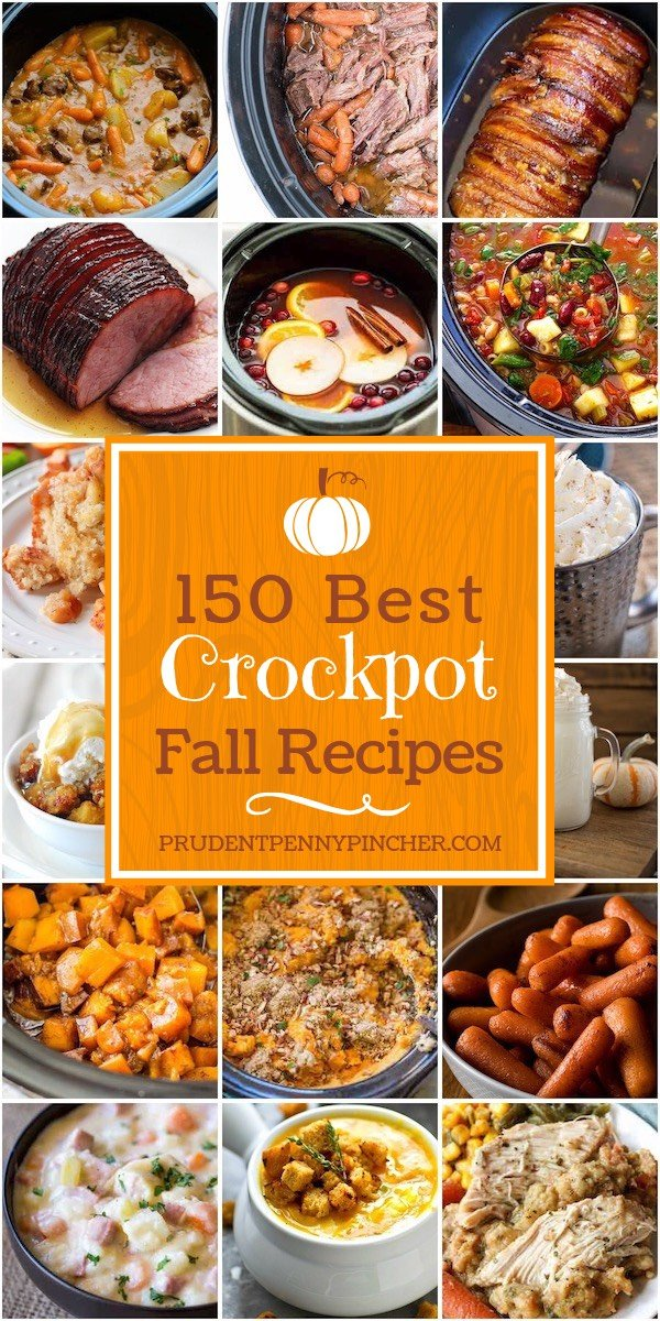 150 Best Fall Crockpot Recipes
