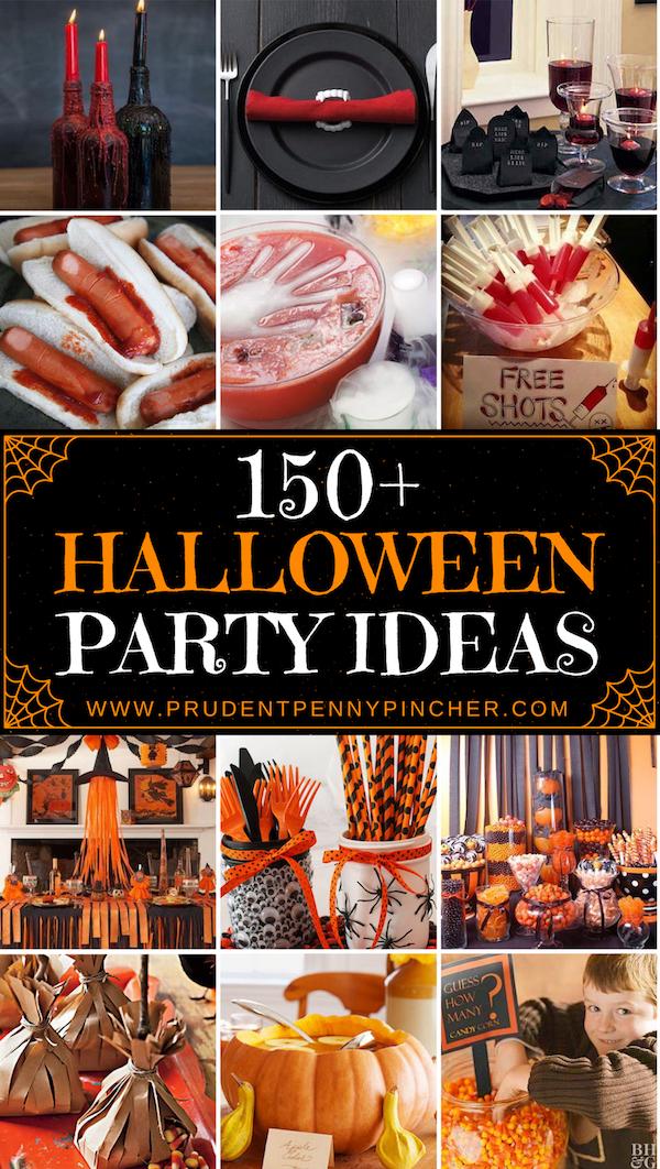 150 Halloween Party Ideas