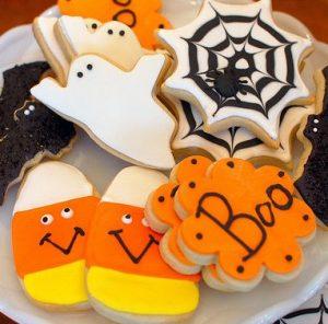 Halloween Shaped Cookies