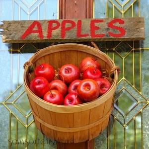Apple Basket Front Door Hanger