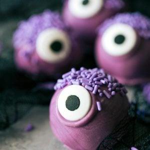 One Eyed Purple Monster Truffles