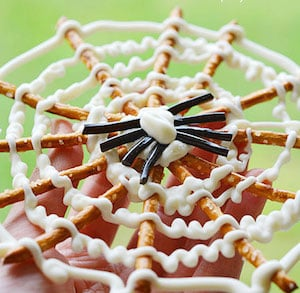 Pretzel Spider Webs
