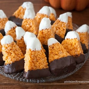 rice krispie halloween treats