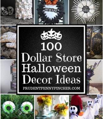 100 Dollar Store Halloween Decor Ideas