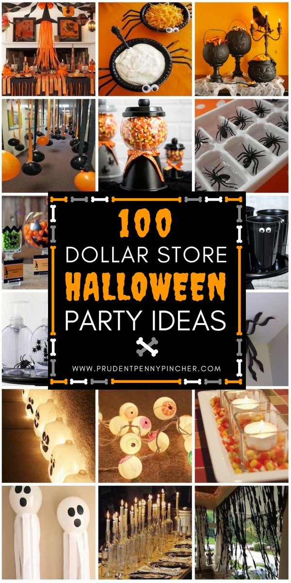 100 dollar store halloween party ideas prudent penny pincher