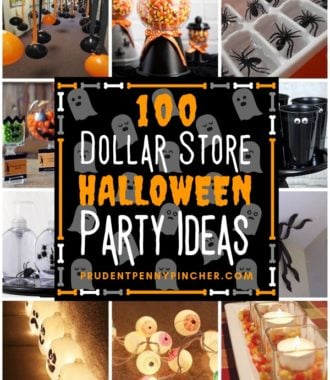 100 Dollar Store Halloween Party Ideas
