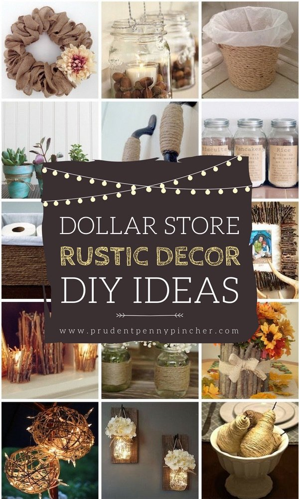 50 Dollar Store Rustic Home Decor Ideas