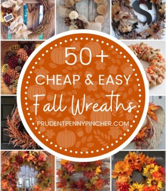 50 Cheap and Easy Fall Wreaths