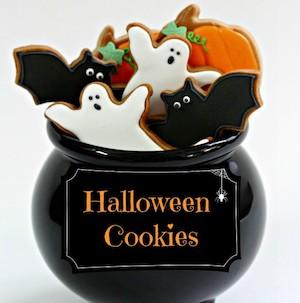 Halloween Royal Icing Cookies Decorating