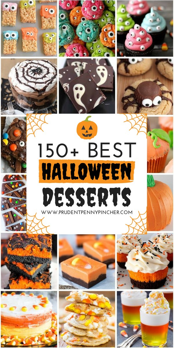 150 Best Halloween Desserts