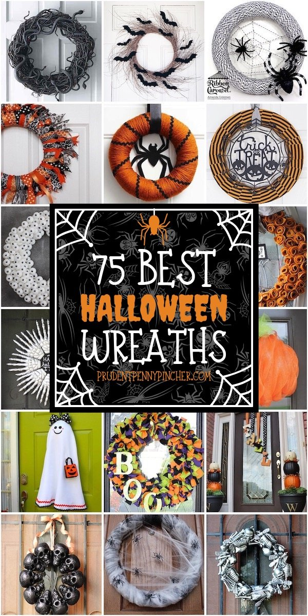 75 Best Halloween Wreaths