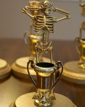 DIY Halloween Costume Content Trophy