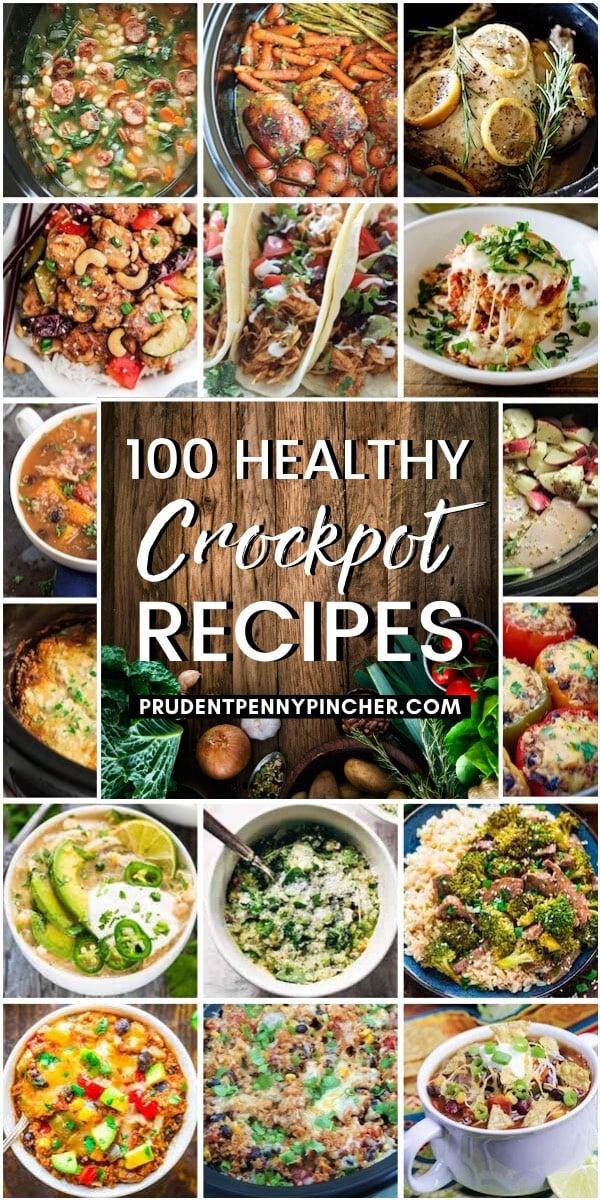 100 Healthy Crockpot Recipes