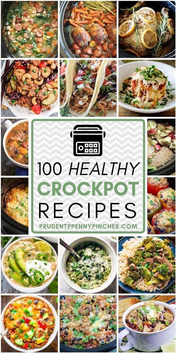 100 Healthy Crockpot Dinner Recipes