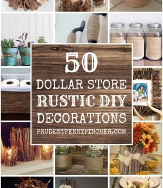 50 Dollar Store DIY Rustic Home Decor Ideas