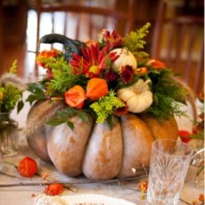 DIY Pumpkin Centerpiece for thanksgiving