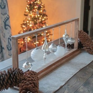 rustic christmas centerpieces - Rustic Christmas Centerpieces