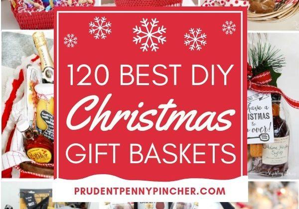 120 Best DIY Christmas Gift Baskets