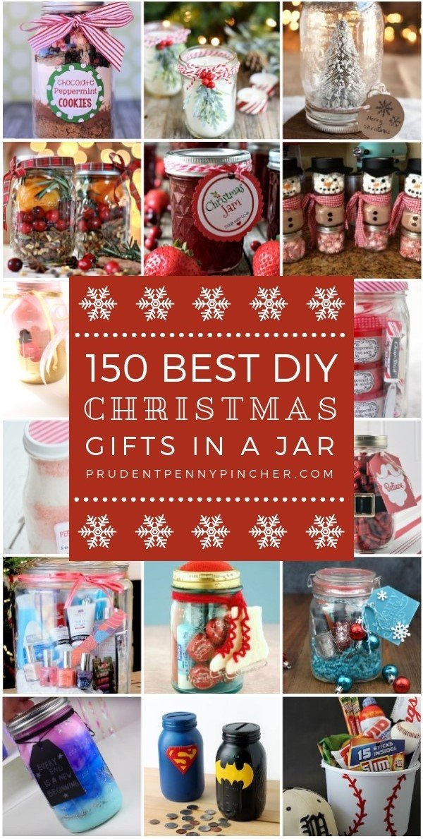 150 best christmas gifts in a jar