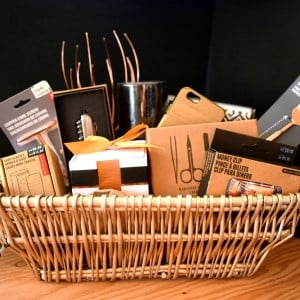 Men's DIY Gift Basket from Hello Life Online