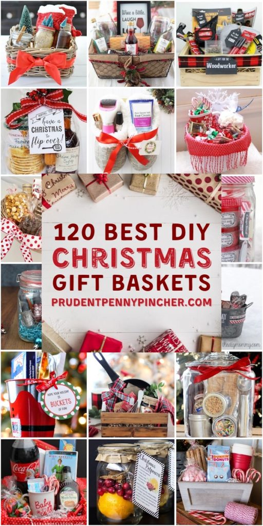 120 Best DIY Christmas Gift Baskets
