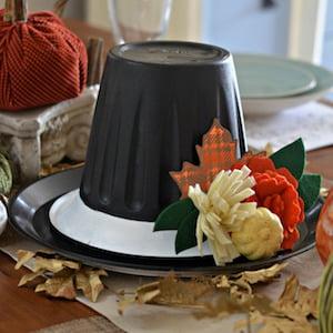 Thanksgiving Hat Centerpiece