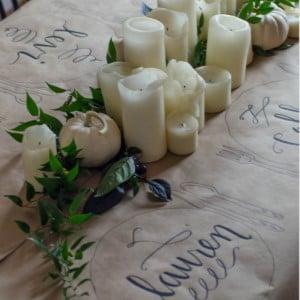 Friendsgiving Casual Thanksgiving Table