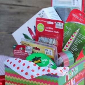 friends family diy christmas gift baskets