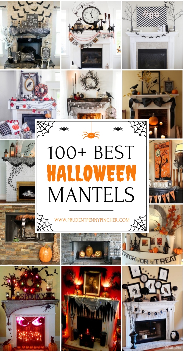 100 Best Halloween Mantel Decor Ideas