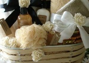 Dollar Tree Folded Towel Gift Idea from Hip 2 Save