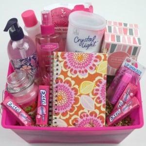 Pink Gift Basket Source Unknown 120 Diy Baskets Prudent Penny Pincher Ideas For Best Friend