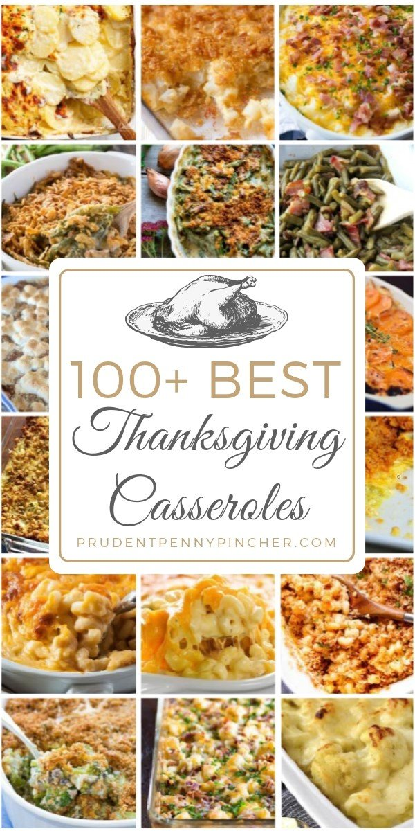 100 Best Thanksgiving Casseroles