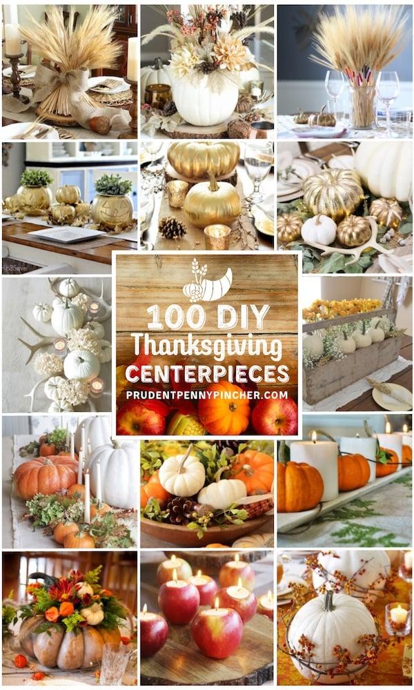 100 Best Diy Thanksgiving Centerpieces Prudent Penny Pincher