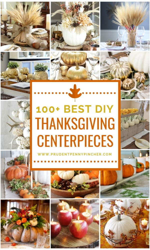 Bring A Touch Of Fall Into Your Home With These Elegant Diy Thanksgiving Centerpieces That Will Transform Dinner Table Warm And