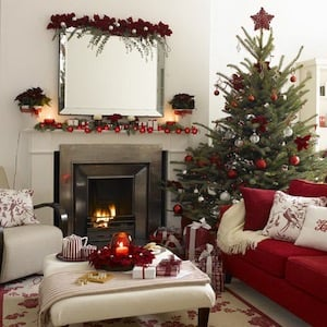 christmas tree for small living room - Small Christmas Decorations